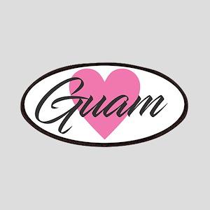 I Heart Guam Patch