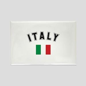 Italian Flag Rectangle Magnet