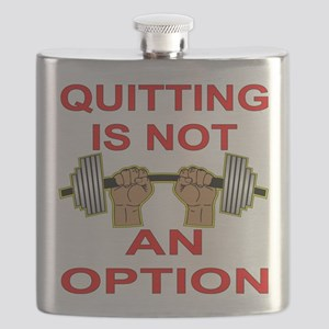 Quitting Not An Option Flask