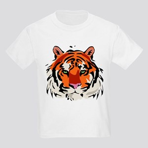 Tiger (Face) Kids Light T-Shirt