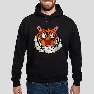 Tiger (Face) Hoodie (dark)