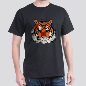 Tiger (Face) Dark T-Shirt
