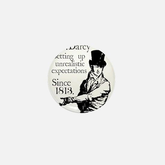 Funny Austen Mini Button