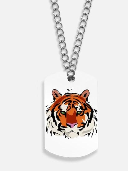 Tiger (Face) Dog Tags