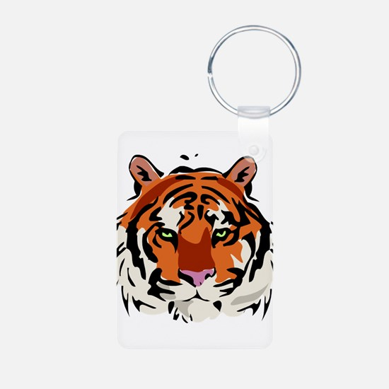 Tiger (Face) Keychains
