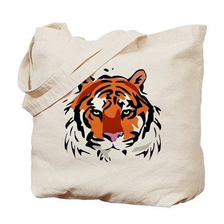 Tiger (Face) Tote Bag