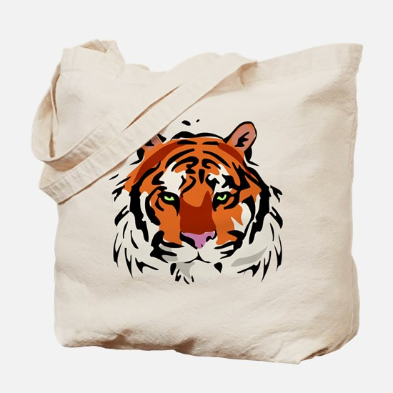 Tiger (Face) Tote Bag