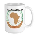 United States of Africa Large Mug