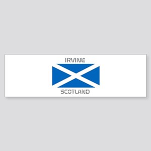 Irvine Scotland Sticker (Bumper)