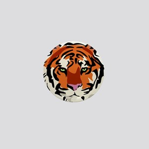 Tiger (Face) Mini Button