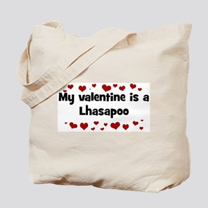 Lhasapoo valentine Tote Bag