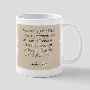 Mug: Necessity-Pitt