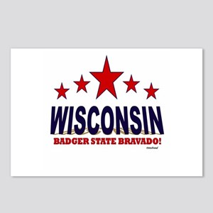 Wisconsin Badger State Br Postcards (Package of 8)