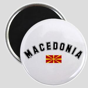 Macedonian Flag Magnet