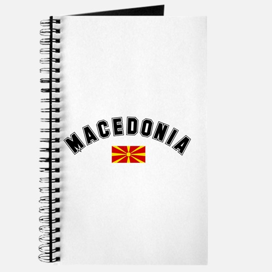 Macedonian Flag Journal