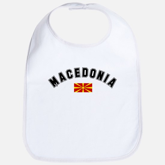 Macedonian Flag Bib