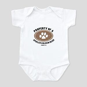 Golden Irish dog Infant Bodysuit