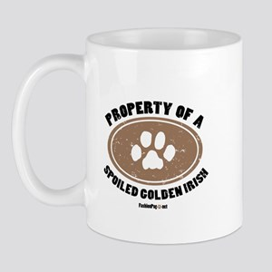Golden Irish dog Mug