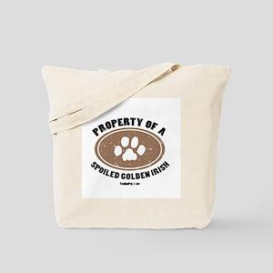 Golden Irish dog Tote Bag