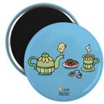 Its always tea-time! Magnets