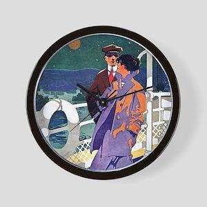Art Deco Cruise Wall Clock