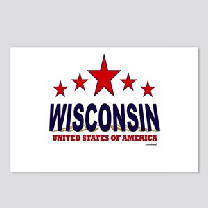 Wisconsin U.S.A. Postcards (Package of 8)