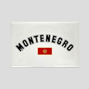 Montenegro Flag Rectangle Magnet
