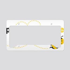 Pawpaw To Bee License Plate Holder