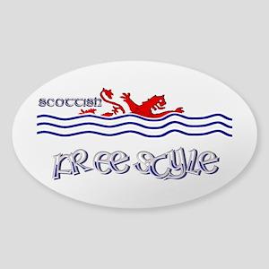scottish freestyle swimmer Sticker