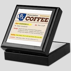 Prescription Coffee Keepsake Box