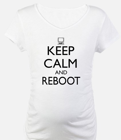 Keep calm and reboot Shirt