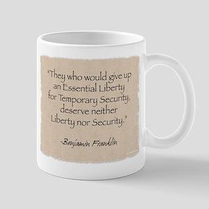 Mug: Liberty-Franklin