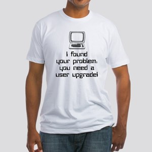 User Upgrade Fitted T-Shirt