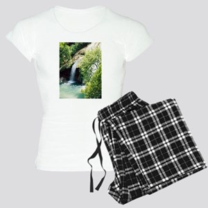 Turner Falls Waterfall Women's Light Pajamas