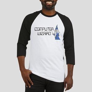 Computer Wizard Baseball Jersey