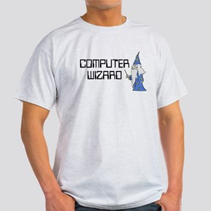 Computer Wizard Light T-Shirt