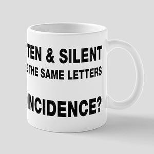 Listen and Silent Mug