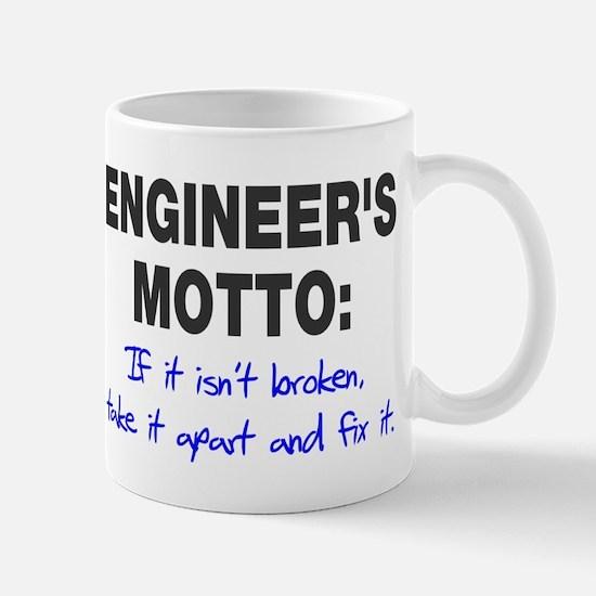 Engineer's Motto Mug