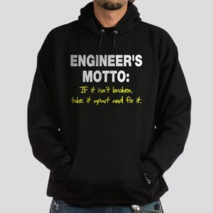 Engineer's Motto Hoodie (dark)