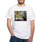 Window View White T-Shirt