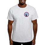 Moonlight Emblem Ash Grey T-Shirt