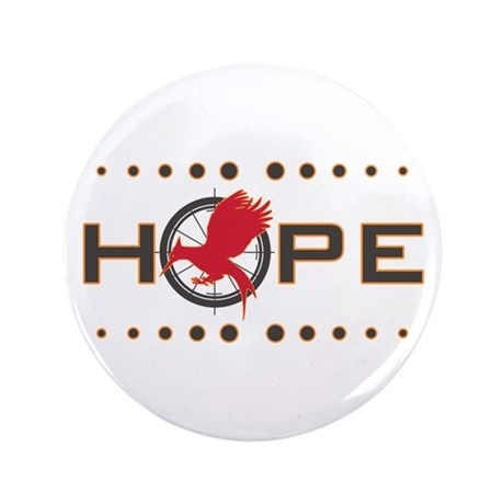 """Catching Fire Hope 3.5"""" Button (100 pack)"""