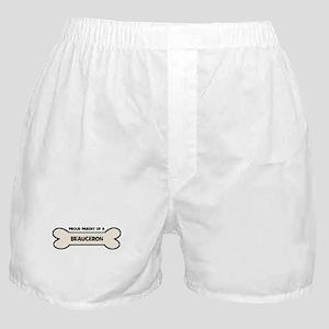 Proud Parent: BEAUCERON Boxer Shorts