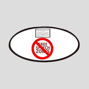 FREE SPEECH DESIGNATED AREA Patches