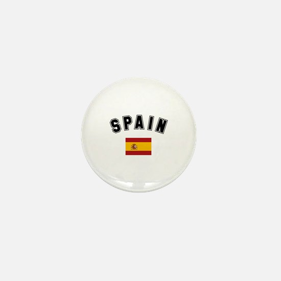 Spanish Flag Mini Button