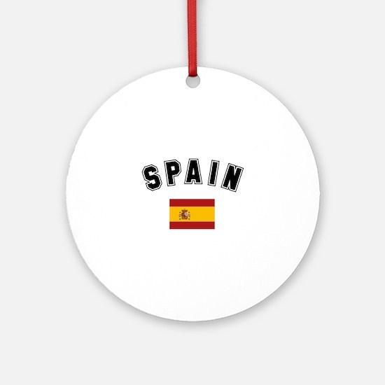 Spanish Flag Ornament (Round)