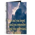 Confucius Saying Journal
