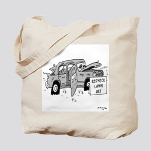 Redneck Lawn Art Tote Bag