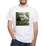 Oregon Lawn Art White T-Shirt