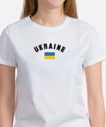Ukrainian Flag Women's T-Shirt
